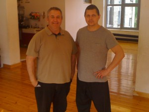 Olaf Rolving und Jamie Dibdin in Berlin